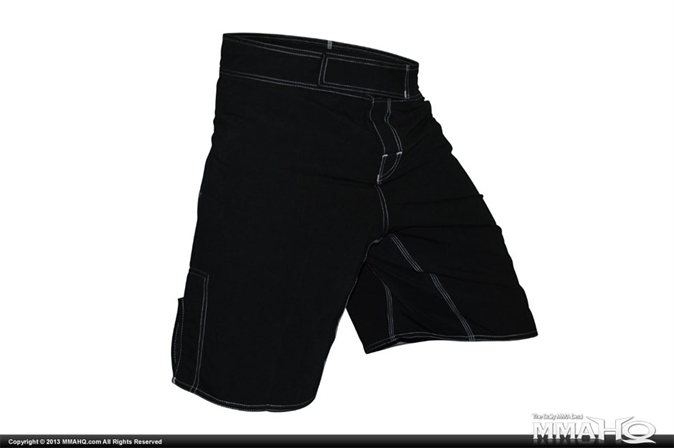 Cageside Fitted Black Shorts